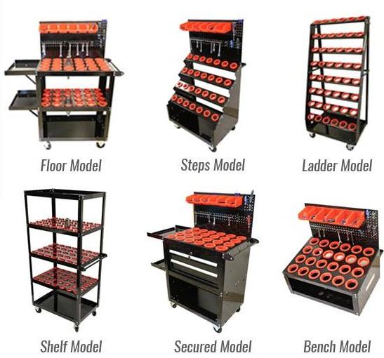 CNC Tool Cart types