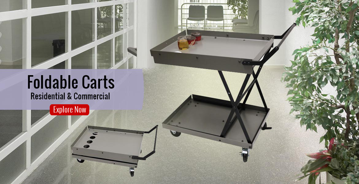Residential & commercial foldable carts