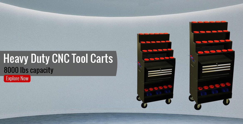Heavy Duty CNC Tool carts