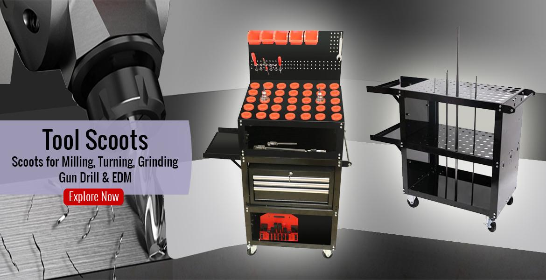 cnc tool cart tool scoots